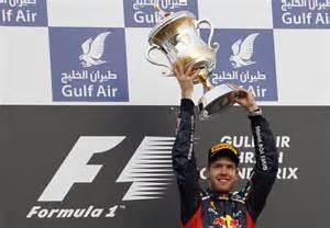 Sebastien Vettel of Red Bull.