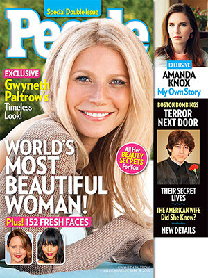 Gwyneth Paltrow named 'World's Most Beautiful Woman' of 2013