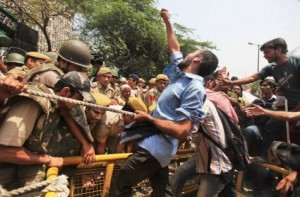 Protests Continue In India Over Molestation Of Five-year-old Girl