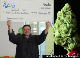 Bob Erb, a long-time marijuana activist from B.C., won a $25 million Lotto Max jackpot late last year and has already given much of it away, including $1 million earmarked for the promotion of marijuana legalization.