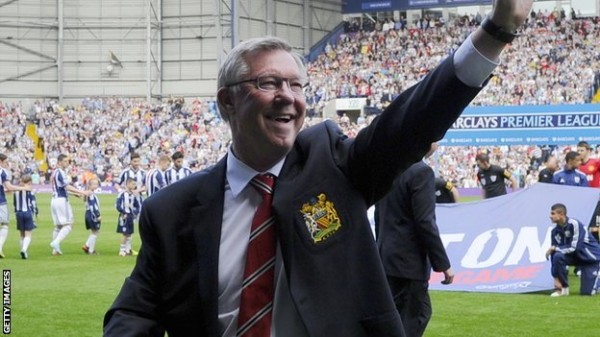Last Premier League Appearance For Sir Alex Ferguson.