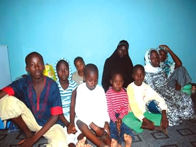 THE RESCUED WOMEN & CHILDREN