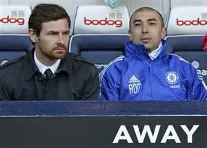 Andre Villas- Boas and Di Mateo Before his Departure.