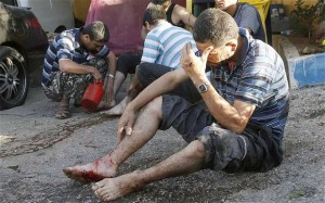 Rockets Hit Beirut's Southern Suburbs As Syrian War Spills Into Lebanon