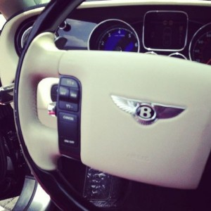 Chris Attoh gets a Bentley for his birthday?!?