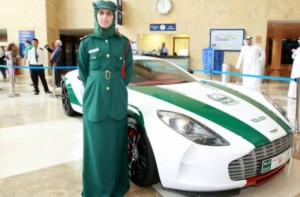 Dubai policewoman