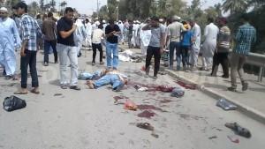 Iraq mosque bomb