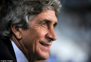 "Pellegrini Is Expected To ""Win Five Trophies In Five Years"" At Manchester City."