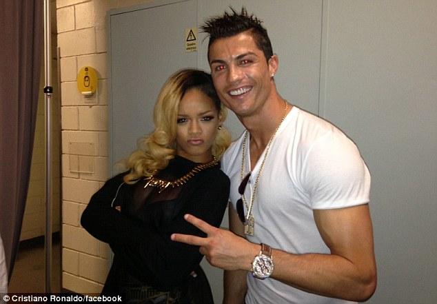 Take a Pose: Ronaldo Versus Rihanna; When the Worlds Collide.