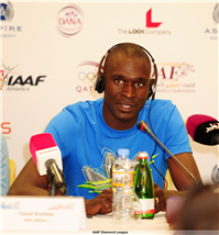 David Rudisha, World/ Olympic Champion (800m).