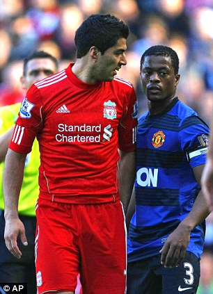 The Suarez- Evra Incident of 2011.
