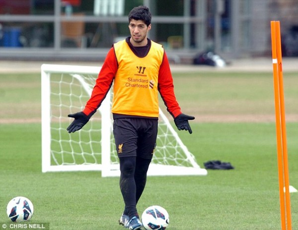 Luis Suarez Wouldn't 'Say No' to a Move to Madrid.