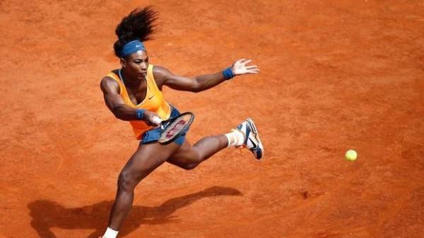 Serena Williams At the Foro Italico.