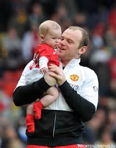 Wayne Rooney Expects His Second Child.