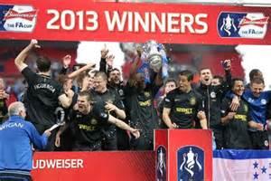 Wigan Won The FA Cup.