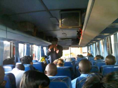 Bus Preacher Beaten To Coma In Lagos After Condoms Fell Out From Bible