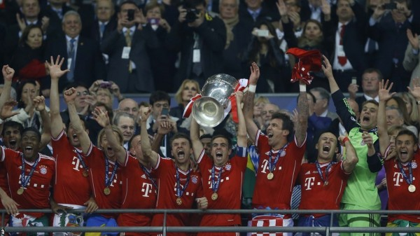 Bayern's Status As European Champions Boosted Their Global Audience.
