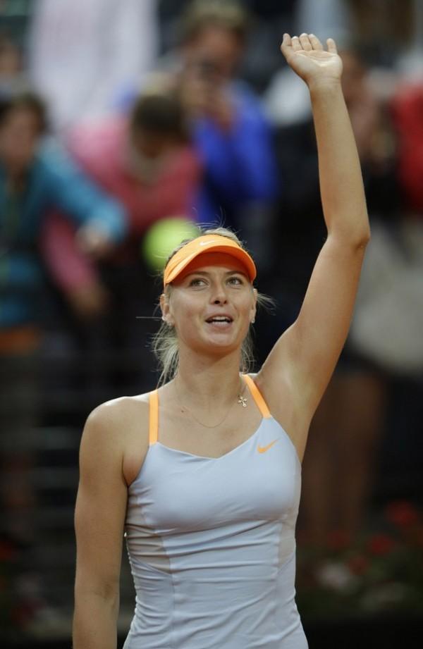 Sharapova Pulls Out of Italian Open.