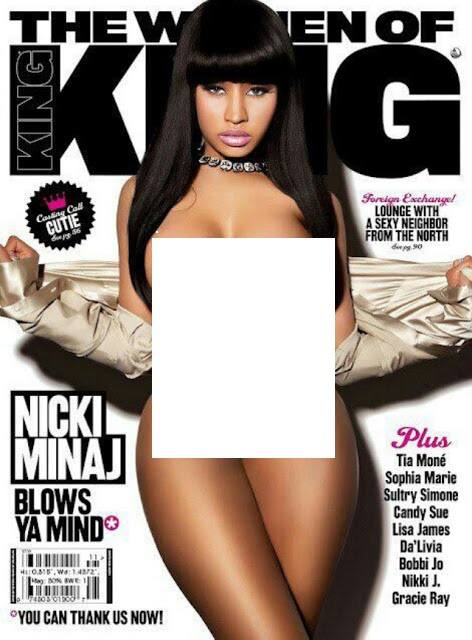 PHOTO: Nicki Minaj Takes Off Clothes For Magazine Cover