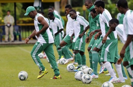 Flying Eagles Prepares For World Cup.