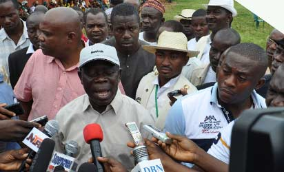 PDP Lied, Edo SUBEB's Money Not Missing – Oshiomhole