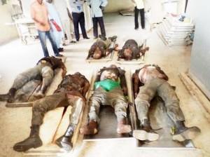 Nasarawa: slain policemen