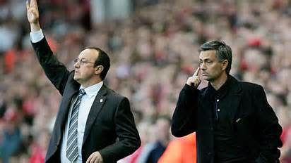 Got My Eyes on You, Mourinho seem to be telling his Players at Chelsea.