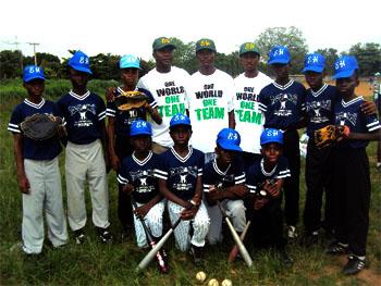 National U- 12 Baseball Team.