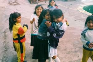 Children living in San Pedro prison, La Paz, Bolivia