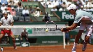 Nadal and Djokovic.