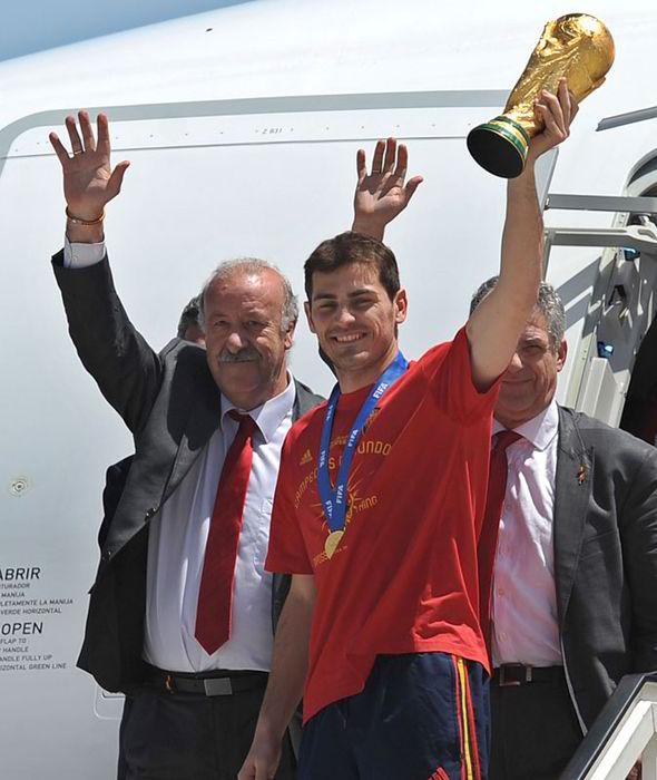 Triumphant Spain.