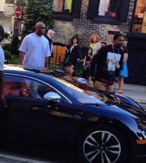 Drake Acquires New Bugatti (Photos)