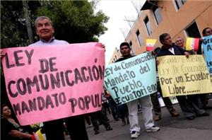 Ecuador Approves Law Curtailing Private Media