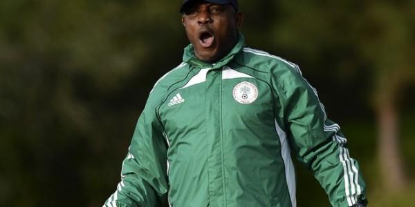 Coach Stephen Keshi.