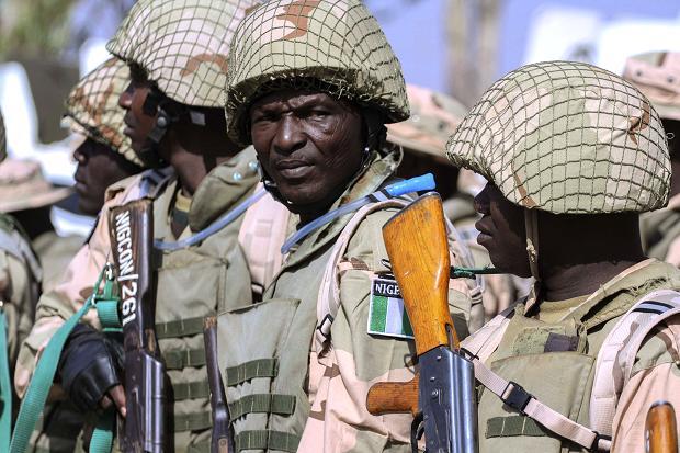 Nigerian Troops In Mali