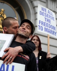 US Gays Celebrate 'Landmark' Ruling Allowing Them To Marry In San Francisco