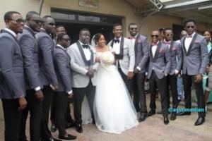 comedian elenu wedding1
