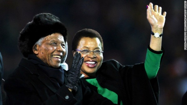 Nelson Mandela Graced the Opening Ceremony of the FIFA World Cup. We Wish Him Quick Recovery For His Annual Challenge. Long Live Mandiba!!!