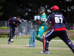 Ricky Sharma Batting For Nigeria.