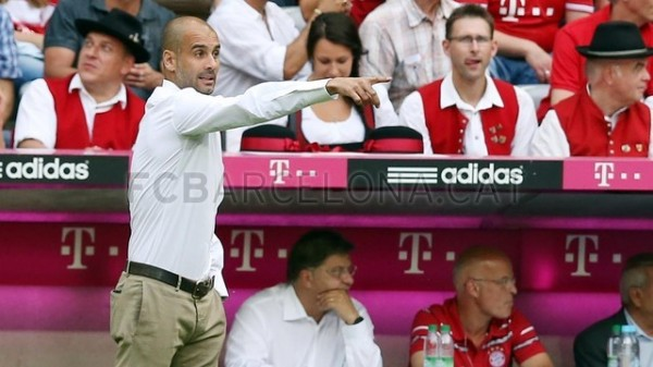 Guardiola Dishes Out Instructions.