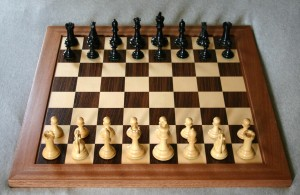 Chess Board: From Opening, Tactical Exercises to End Game Theories, Players Need Vast Knowledge of the Game to Excel.