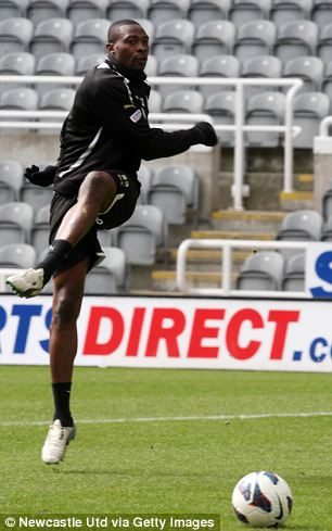 Shola Ameobi in Fitness Race Ahead of Nigeria's August 14 Friendly With South Africa.