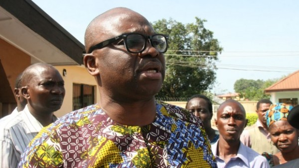Ayo Fayose Declared official PDP Candidate For Ekiti Elections.