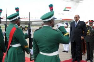 Bashir arrived in Abuja on Sunday