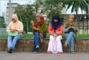 Filipina Muslim women