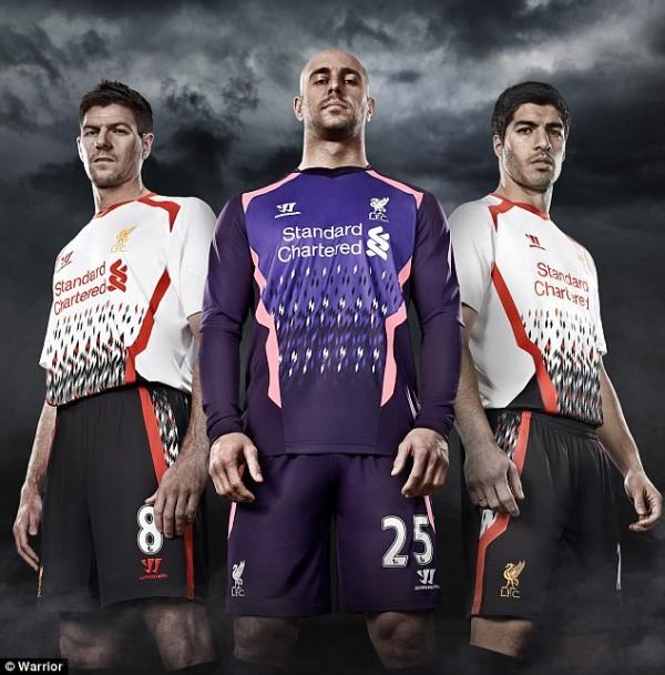 Liverpool's Variant Kit.