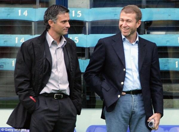 The Friend of a Businessman: Abramovich and Jose Mourinho.