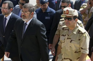 Mursi, defence chief