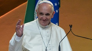 Pope Warns Youths Against Money 'Idol'