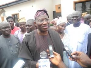 Jonathan, 4 Northern Governors Visit Obasanjo In Abeokuta